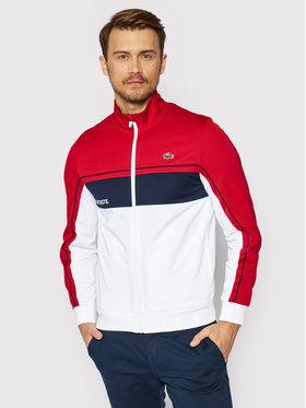 Lacoste Lacoste Bluză SH9543 Roșu Regular Fit
