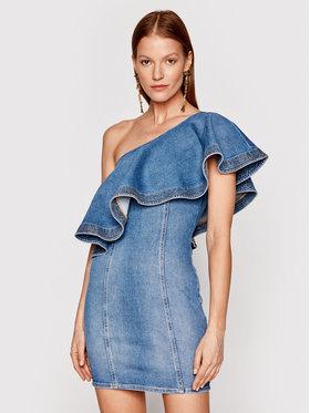 Elisabetta Franchi Elisabetta Franchi Sukienka jeansowa AJ-19D-11E2-V380 Niebieski Slim Fit