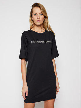 Emporio Armani Emporio Armani Kleid für den Alltag 262676 1P340 98320 Schwarz Regular Fit