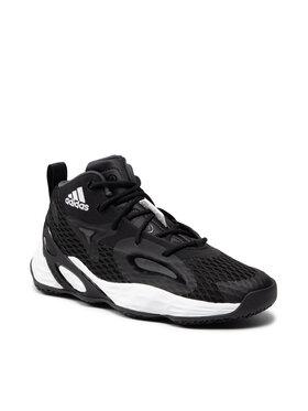 adidas adidas Обувки Exhibit A Mid H67747 Черен
