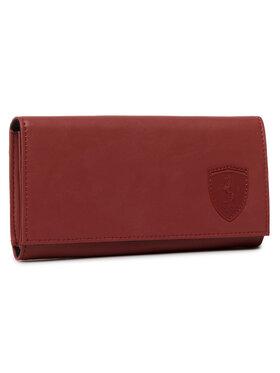 Puma Puma Große Damen Geldbörse Sf Ls Wallet F 053380 02 Rot
