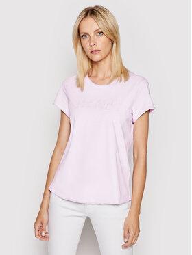 Joop! Joop! T-Shirt 58 JJE712 Taria 30027656 Fioletowy Regular Fit