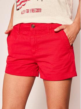 Pepe Jeans Pepe Jeans Bavlnené šortky Balboa PL800695 Červená Regular Fit