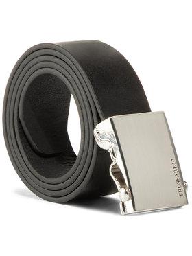 Trussardi Jeans Trussardi Jeans Vyriškas Diržas Belt H. 3,5 71L00116 Juoda