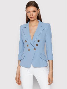 Elisabetta Franchi Elisabetta Franchi Blazer GI-975-16E2-V500 Bleu Slim Fit
