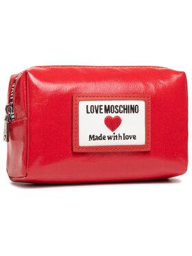 LOVE MOSCHINO LOVE MOSCHINO Kosmetyczka JC5304PP1CLC150A Czerwony