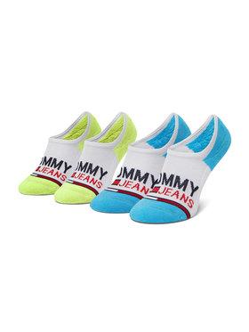Tommy Jeans Tommy Jeans Sada 2 párů dámských ponožek 100000402 Bílá