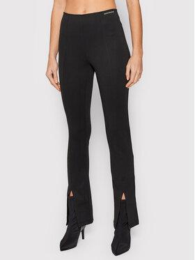 Calvin Klein Jeans Calvin Klein Jeans Текстилни панталони J20J216592 Черен Slim Fit