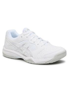 Asics Asics Παπούτσια Gel-Dedicate 6 1042A067 Λευκό