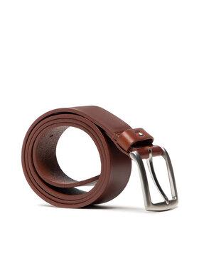 Tommy Hilfiger Tommy Hilfiger Pánský pásek New Denton 3.5 Belt E3578A1208 Hnědá