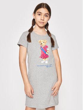 Polo Ralph Lauren Polo Ralph Lauren Kasdieninė suknelė Bear 313837200002 Pilka Regular Fit
