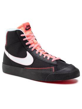 NIKE NIKE Cipő Blazer Mid '77 Gs DD7710 001 Fekete