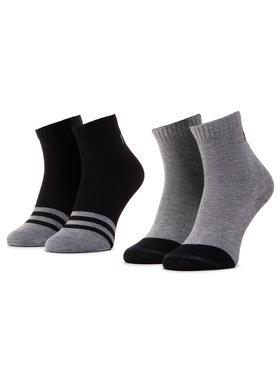 Reima Reima Unisex ilgų kojinių komplektas (2 poros) MyDay 527347 Juoda