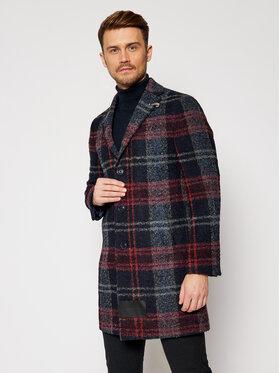 Baldessarini Baldessarini Gyapjú kabát Duncan 18654/8665/4304 Sötétkék Modern Fit