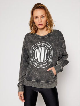 DKNY Sport DKNY Sport Sweatshirt DP0T7385 Gris Regular Fit