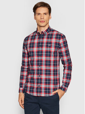 Tommy Jeans Tommy Jeans Koszula Stretch Check Poplin DM0DM10983 Kolorowy Slim Fit