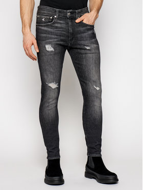 Calvin Klein Jeans Calvin Klein Jeans Jean Ckj 016 J30J318033 Noir Skinny Fit
