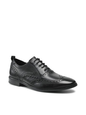 Clarks Clarks Pantofi StanfordBrogue 26161169 Negru