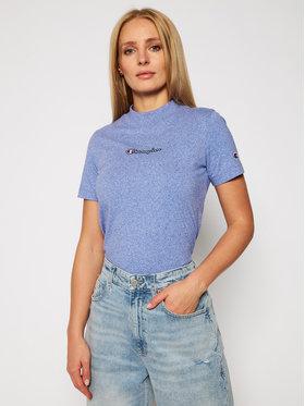 Champion Champion T-Shirt 113206 Niebieski Custom Fit