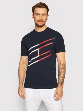 Tommy Hilfiger Tommy Hilfiger T-Shirt Graphic MW0MW18583 Tmavomodrá Regular Fit