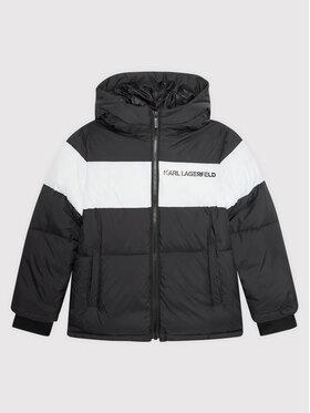 KARL LAGERFELD KARL LAGERFELD Pernata jakna Z26084 M Crna Regular Fit