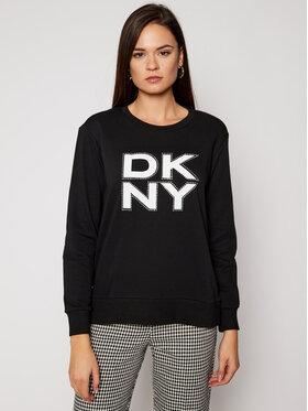 DKNY DKNY Sweatshirt P0JWAB2R Schwarz Regular Fit