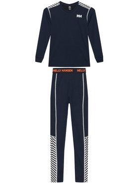 Helly Hansen Helly Hansen Komplet termoaktivního prádla Jr Hh Lifa Active 48647 Tmavomodrá Relaxed Fit