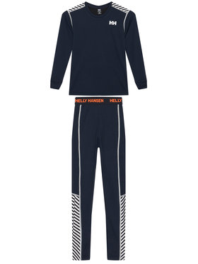 Helly Hansen Helly Hansen Set di biancheria intima termica Jr Hh Lifa Active 48647 Blu scuro Relaxed Fit