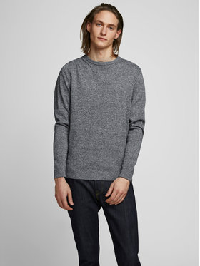 Jack&Jones Jack&Jones Пуловер Basic 12137190 Сив Regular Fit