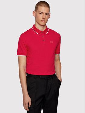 Boss Boss Polohemd Parlay 101 50445486 Rot Regular Fit