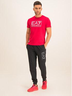 EA7 Emporio Armani EA7 Emporio Armani T-Shirt 8NPT10 PJNQZ 1450 Červená Regular Fit