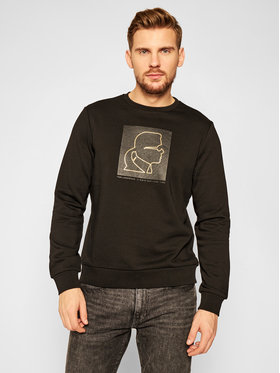 KARL LAGERFELD KARL LAGERFELD Pulóver Sweat 705013 502900 Fekete Regular Fit
