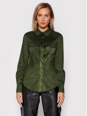 Guess Guess Marškiniai Daisy W1BH13 WE5D0 Žalia Regular Fit