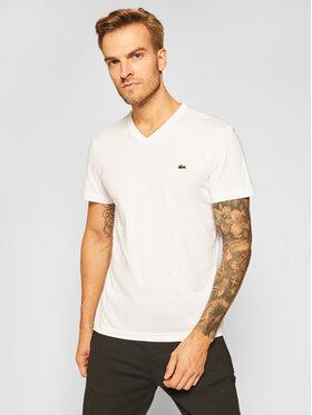 Lacoste Lacoste Marškinėliai TH2036 Balta Regular Fit