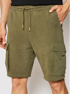 Only & Sons Only & Sons Спортни шорти Nicky 22019126 Зелен Regular Fit