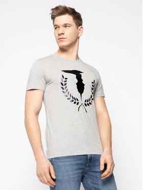 Trussardi Jeans Trussardi Jeans T-Shirt 52T00330 Grau Regular Fit