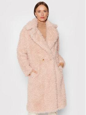 Fracomina Fracomina Átmeneti kabát FR21WC4004O41201 Rózsaszín Regular Fit