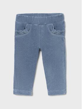 Mayoral Mayoral Spodnie materiałowe 514 Niebieski Super Skinny Fit