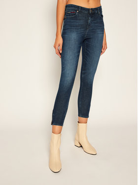Tommy Jeans Tommy Jeans jeansy_skinny_fit Nora DW0DW08400 Tamsiai mėlyna Skinny Fit