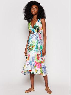 Desigual Desigual Sukienka letnia Seychelles 21SWMW42 Kolorowy Regular Fit