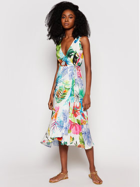 Desigual Desigual Vasarinė suknelė Seychelles 21SWMW42 Spalvota Regular Fit