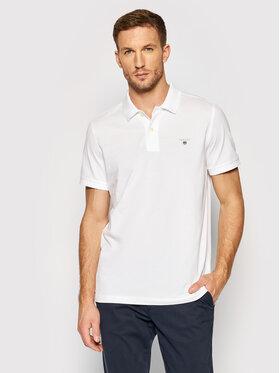 Gant Gant Polohemd Original Pique 2201 Weiß Regular Fit