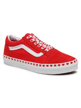 Vans Vans Teniszcipő Old Skool VN0A4UHZ30V1 Piros