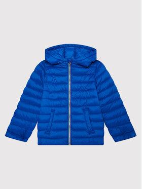 United Colors Of Benetton United Colors Of Benetton Geacă din puf 2BA253HJ0 D Albastru Regular Fit