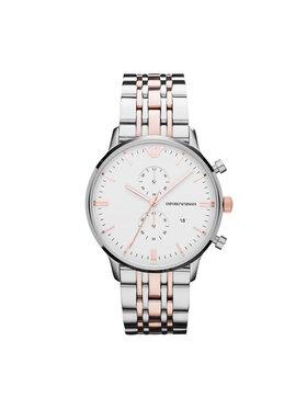 Emporio Armani Emporio Armani Часовник Classic AR0399 Сребрист