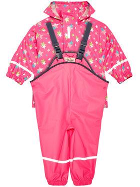 Playshoes Playshoes Súprava nepremokavá bunda a nohavice 408692 Ružová Regular Fit