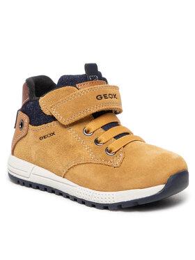Geox Geox Зимни обувки B Alben B. C B163CC 02213 C2117 S Кафяв