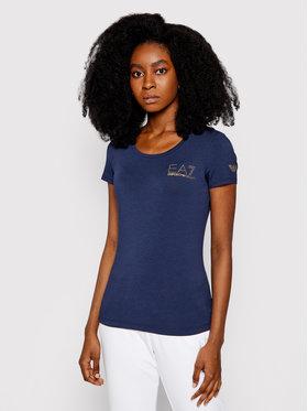 EA7 Emporio Armani EA7 Emporio Armani T-shirt 8NTT65 TJ28Z 1554 Tamnoplava Slim Fit