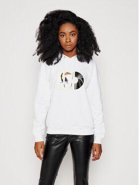 Armani Exchange Armani Exchange Sweatshirt 3KYM50 YJ5PZ 9185 Weiß Relaxed Fit