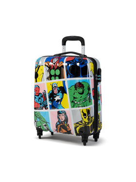 American Tourister American Tourister Mała Twarda Walizka Marvel Legends 92690-9073-1CNU Kolorowy